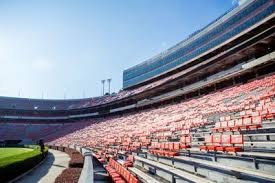 University Of Notre Dame Football Stadium Seating Chart Sanford Stadium To Temporarily Increase Seating For Notre
