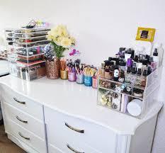 beauty room makeup storage belleblushh
