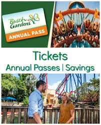 busch gardens ta tickets annual