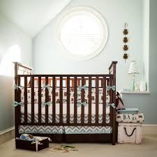 cool retro owls crib bedding nursery crib
