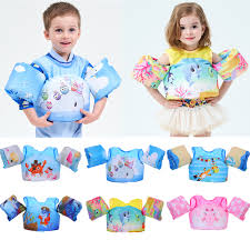 Details About Us New Swimming Puddle Jumper Life Jacket Safety For Kids Baby Swim Training Hot
