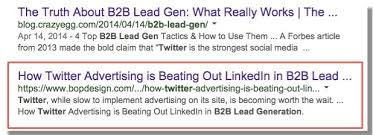 how twitter advertising works 5 things we learned after using twitter for b2b lead generation