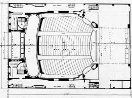 Fonda Theater Seating Chart Balcony Los Angeles Theatres Mayan Theatre History