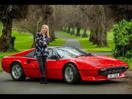 Test Driving An Electric Ferrari 308 Youtube