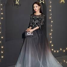 2019 <b>It'S Yiiya Prom Dresses</b> Sequins Long Plus Size O Neck ...