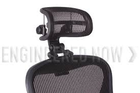 Headrest for Herman Miller Aeron Chair H3 Carbon by Engineered Now ...