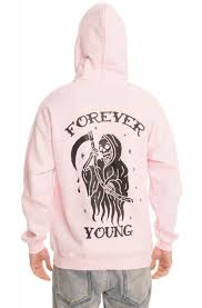 The Forever Young Hoodie In Pink Karmaloop Exclusive