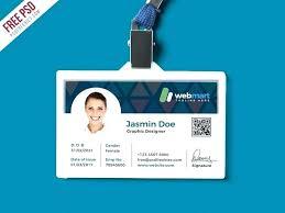 Photo Id Template Hospital Identification Badge Id Template