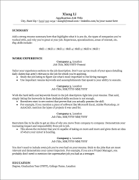 Resume Examples For It Professionals Resume Templates Jobscan