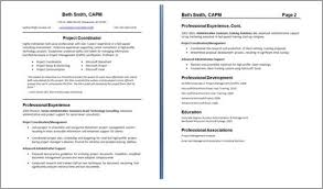 Two Page Resumes Examples Of Two Page Resumes Examples of Resumes 2