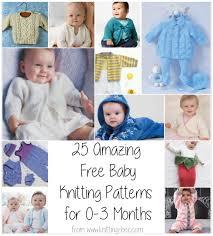 Free Baby Knitting Patterns Enchanting 48 Amazing Free Baby Knitting Patterns For 4848 Months ⋆ Knitting Bee
