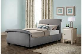 grey sleigh bed attractive grey sleigh bed with double fabric bed with drawers in grey grey grey sleigh bed