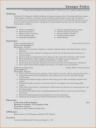 Resume Summary For College Student Inspirational Resume Examples