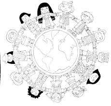 World Map Coloring Pages Page With Countries Of The Printable Sheet