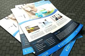 Commercial Cleaning Flyers Cleaning Services Flyer Ad Template Design Brochure
