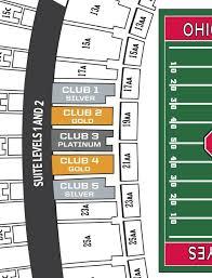 Club Seats Ohio State Buckeyes