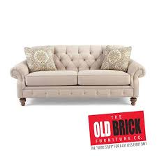 oldbrick furniture. The Button-Tufted Sofa By Craftmaster From Old Brick Furniture Is Sure To Please. Click Here See More: Https://goo.gl/K7onYS Pic.twitter.com/0sRjyMmCmQ Oldbrick U