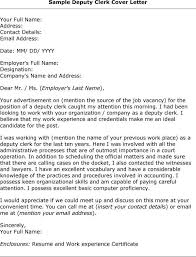 Resume Cover Letter Example Clerical Lezincdc Com