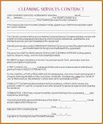House Cleaning Contract Under Fontanacountryinn Com