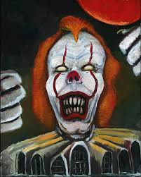 i georgie am pennywise the dancing clown jerry winnett creative ugly clown or bob gray sm