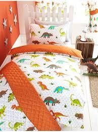 childrens double duvet covers boys prehistoric dinosaur junior duvet cover and pillowcase set kids bedding set childrens double duvet