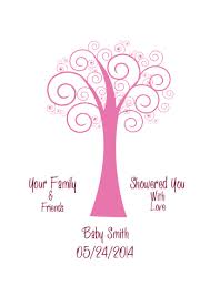 Amazoncom Thumbprint Tree Guestbook Alternative For Fingerprints Fingerprint Baby Shower Tree