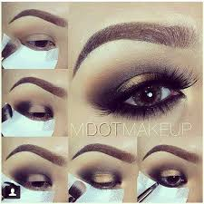 black and gold drama smokey eye makeup tutorial evatornado