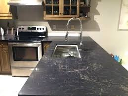 granite with s in and alternatives to leather finish black countertops leathered