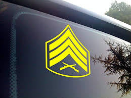 Viavinyl Usmc Marine Corps Enlisted Rank Insignia All Ranks Available With Multiple Color Options Made In The Usa By A Marine Corps Veteran Ooh