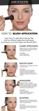 with 4 diffe application techniques according to your face shape and desired effect howto courtesy of makeupforever sephora makeuptutorial blush