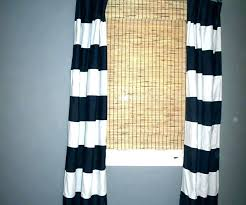 orange rugby stripe curtains navy striped useful curtain blackout