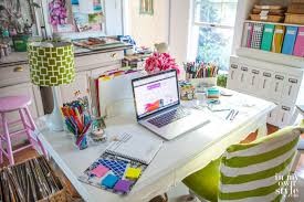 office desk decor ideas. Alluring Office Desk Decor Ideas Bloggers Favorite Room Tours In My Own Style E