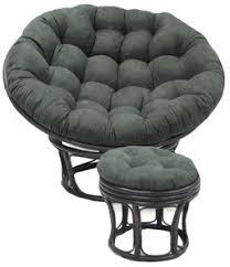 papasan furniture. Microsuede Papasan Chair Replacement Cushion Furniture
