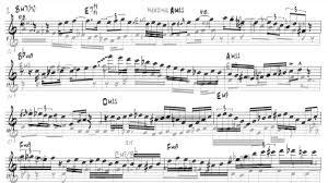 Scott Wilson Trumpet Solo Transcription On Original Big Band Chart Needing You
