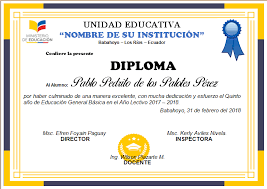 formato mencion de honor diplomas editables en word para imprimir ayuda docente