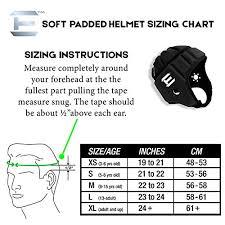Football Helmet Size Chart