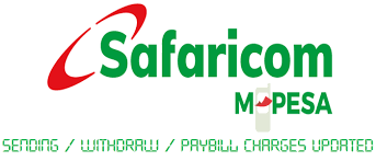 Mpesa Withdrawal Chart Safaricom M Pesa Charges Paybill Charges Kenya 2019