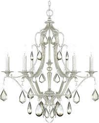 antique silver chandelier capital lighting antique silver chandelier light loading zoom antique silver crystal drop chandelier