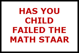Has Your Child Failed The Tx Math Staar Test Red Hot