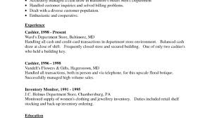 Resume Examples Of Resumes Resume Amazing Simple Objective