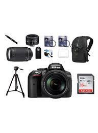 D Lighting Nikon D5300 Shop Nikon D5300 Dslr Camera With 18 140 Mm Vr 50 Mm 1 8d Lens Kit And Sandisk 16gb Sdhc Memory Card Back Bag Tripod Ir Rc Screen Cover Uv
