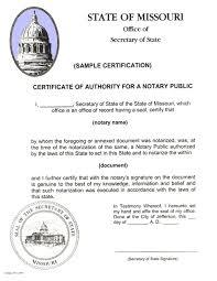 Apostille Missouri Secretary Of State Us Apostille