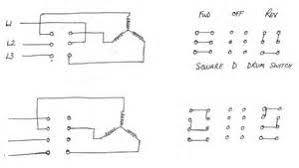 3 phase reversible motor wiring diagram images 3 phase reversing drum switch wiring diagram 3 circuit