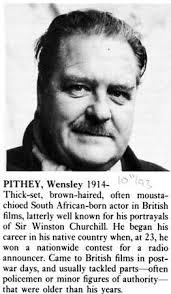 Wensley Pithey - 1950's British TV and Radio