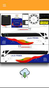Download skin livery bus simulator indonesia shd sekarang juga !. Livery Bus Simulator Shd Laju Prima Livery Bus