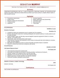Mechanic Resume Mechanic Resume Moa Format Mechanics Installation And Maintenance 58