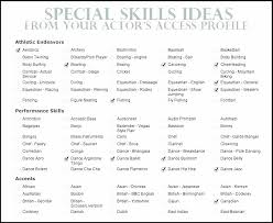 Resume Skills Sample Mesmerizing Examples Of Skills In Resumes Sample Resume Computer Skill Samples