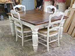 White Distressed Kitchen Table 20 Best Images About Dining Table Diy On Pinterest Miss Mustard