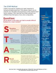 Star Interview Answers Examples Resume Star Method Resume 48 Inspirational Free Resume Templates