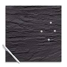 Black Glass Memo Board Amazing Eurographics MBDT32 Magnetic Memo Board Glass Black Slate 32 X 32